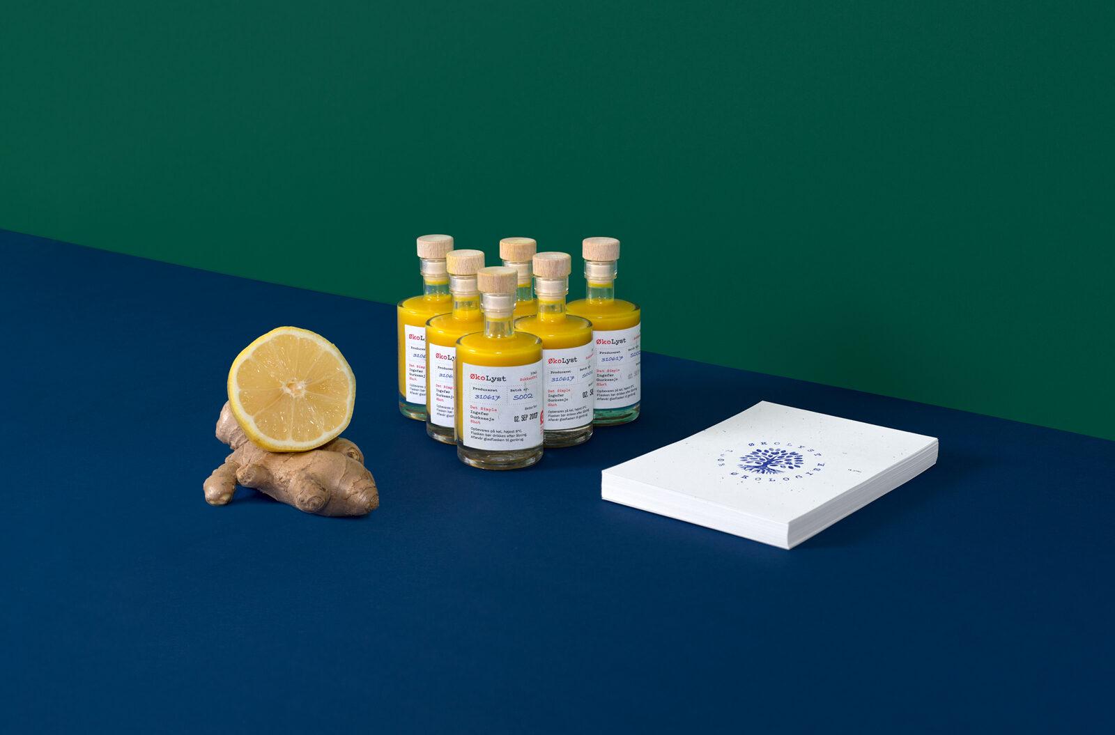 ØkoLyst gurkemeje og ingefær shot